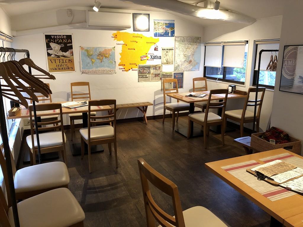 京都のシャティバの2階席