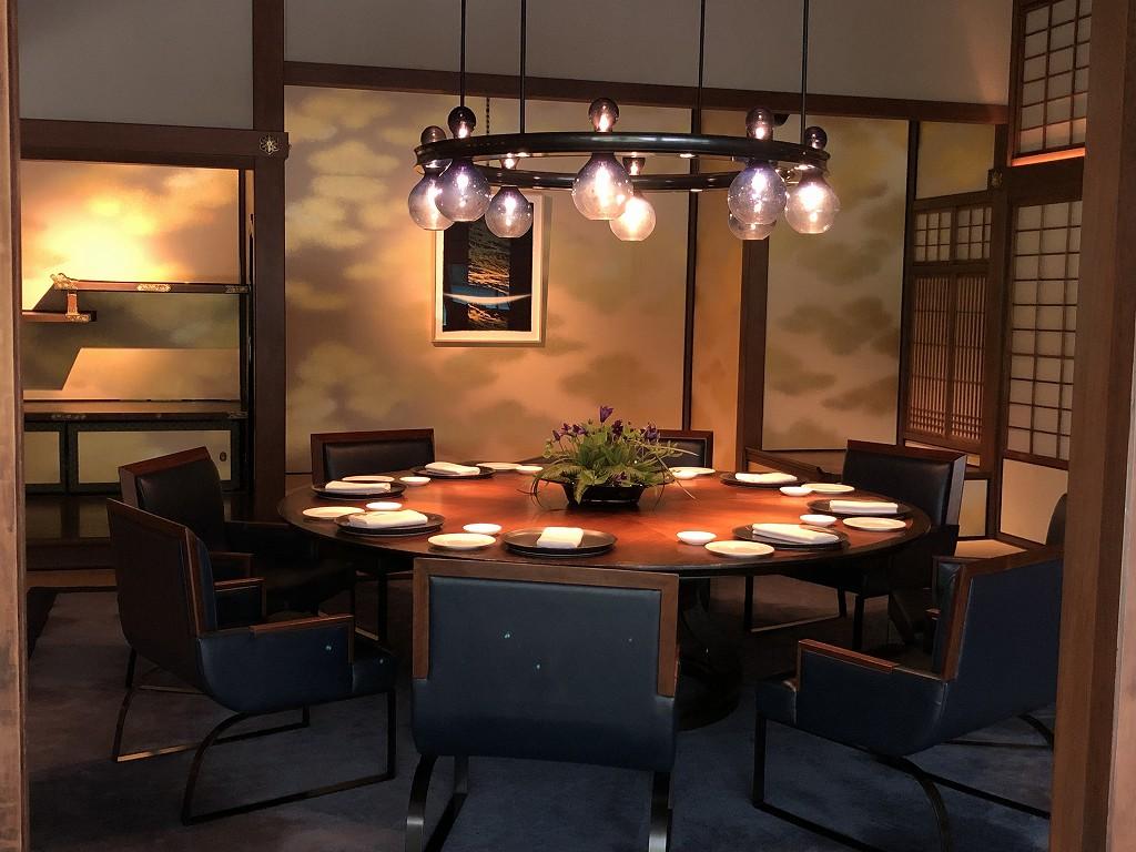 リッツカールトン京都の「ラ・ロカンダ」の和室3