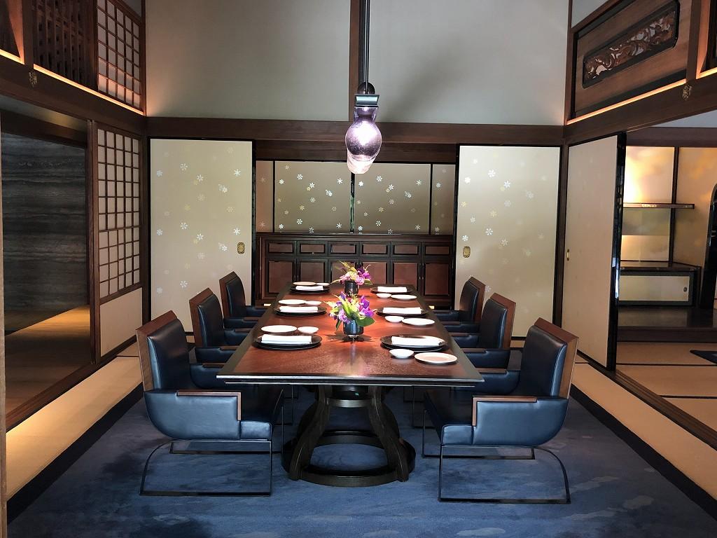 リッツカールトン京都の「ラ・ロカンダ」の和室4
