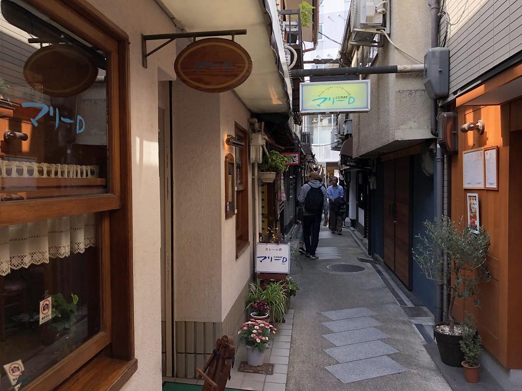 京都の柳小路2