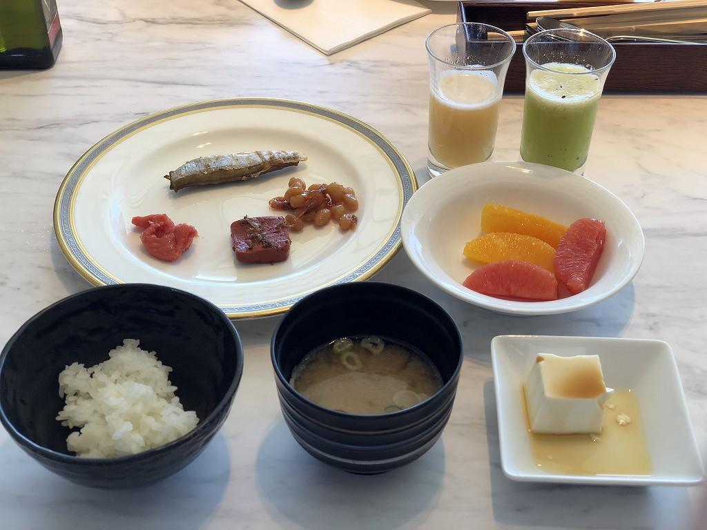 琵琶湖マリオットホテルの朝食