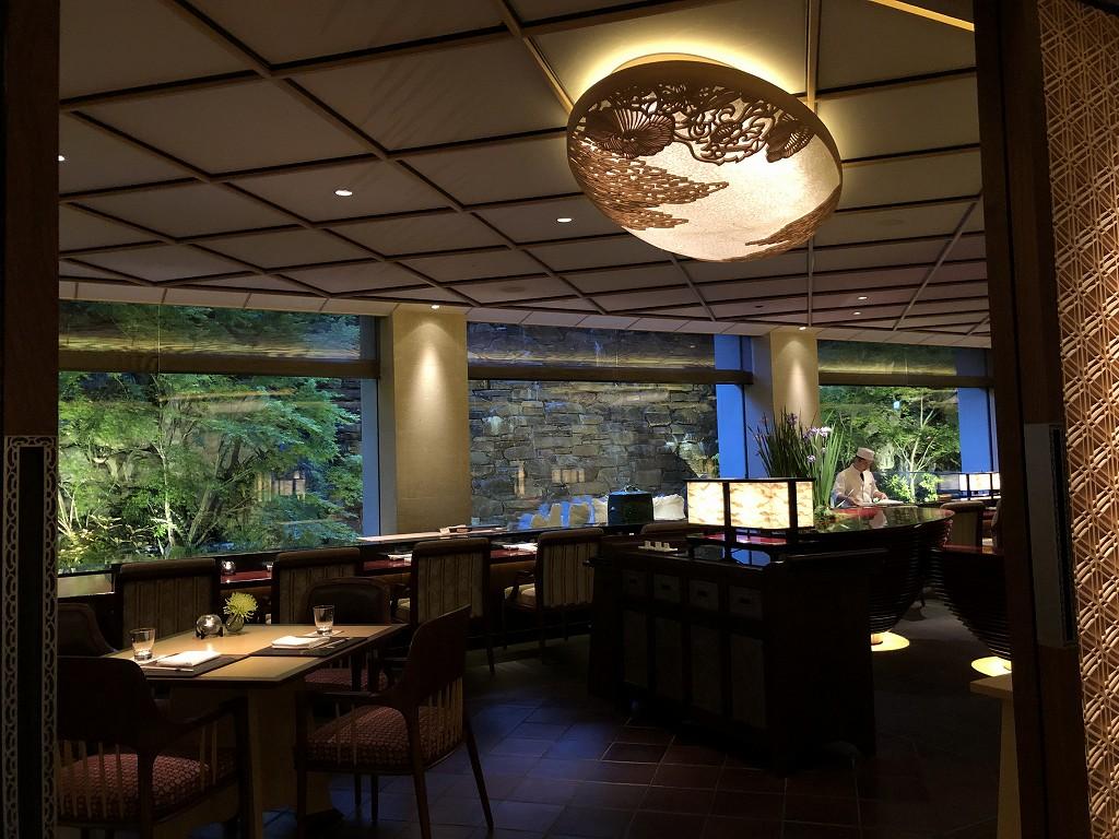 リッツカールトン京都の水暉の半個室