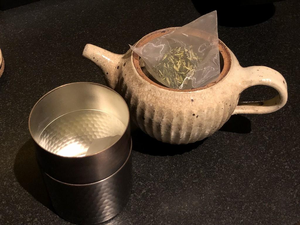 リッツカールトン京都のお茶