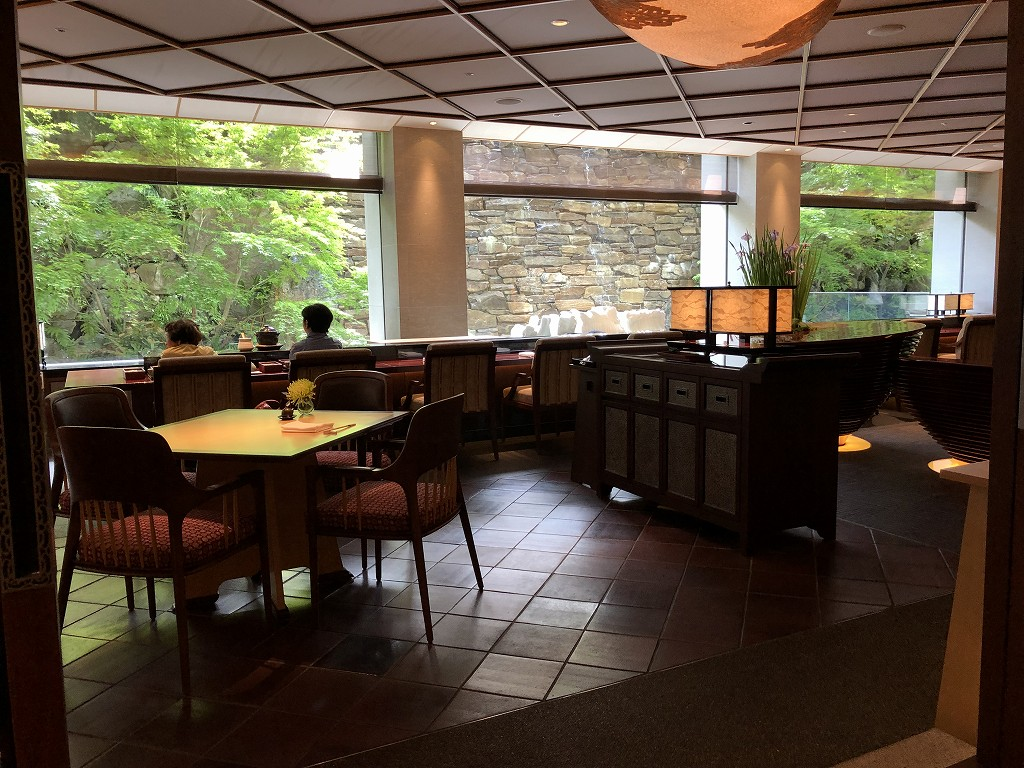 リッツカールトン京都の水暉で朝食2