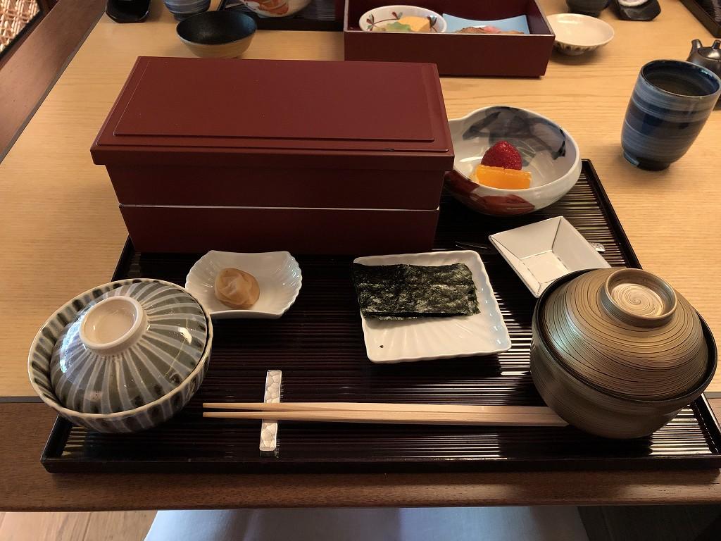 リッツカールトン京都の水暉の朝食3