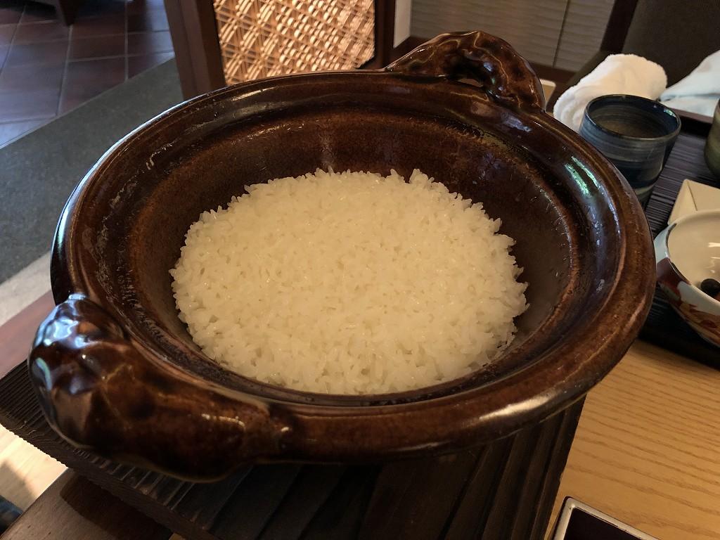 リッツカールトン京都の水暉のご飯