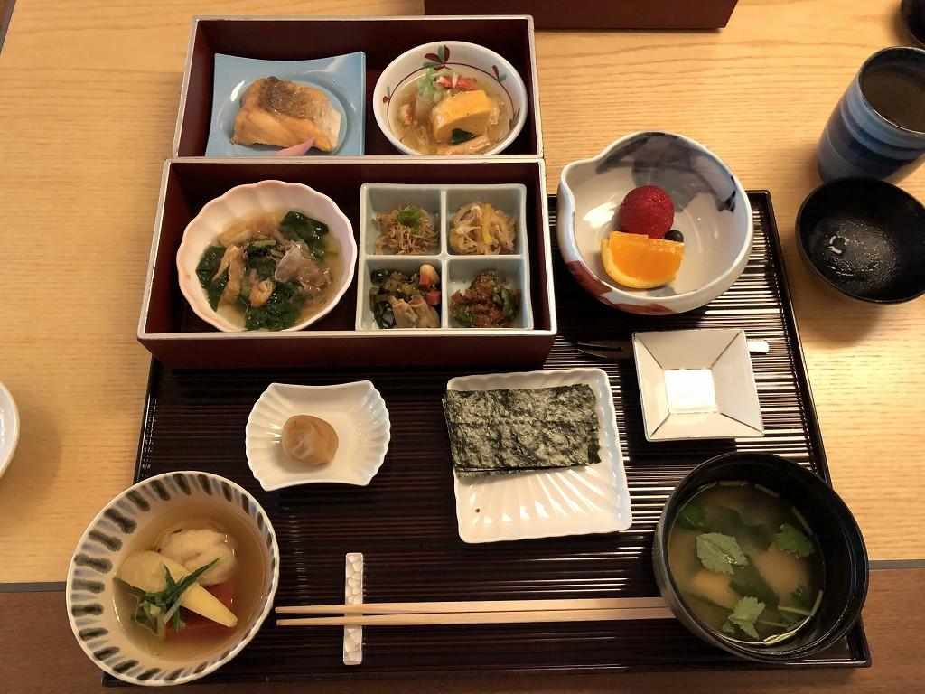 リッツカールトン京都の水暉の朝食4