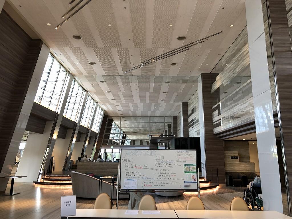 琵琶湖マリオットホテルのSSFの受付