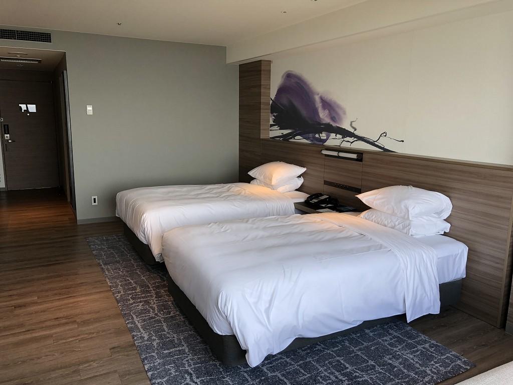 琵琶湖マリオットホテルのデラックスルーム(レイクビュー)2