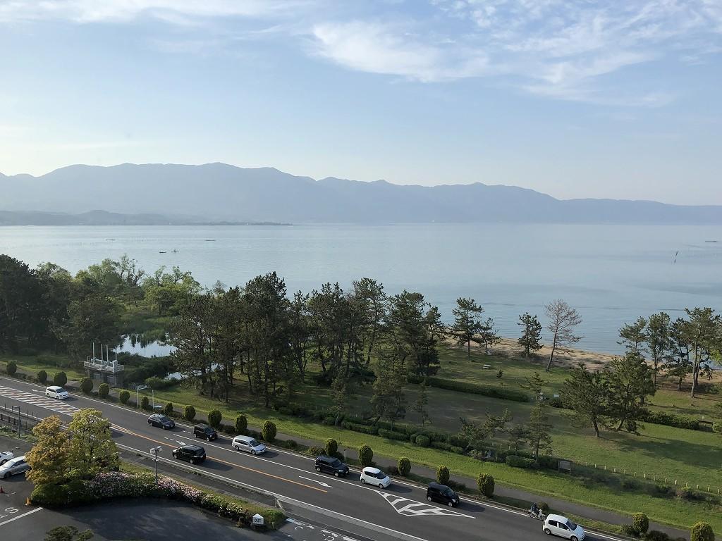 琵琶湖マリオットホテルのデラックスルーム(レイクビュー)8
