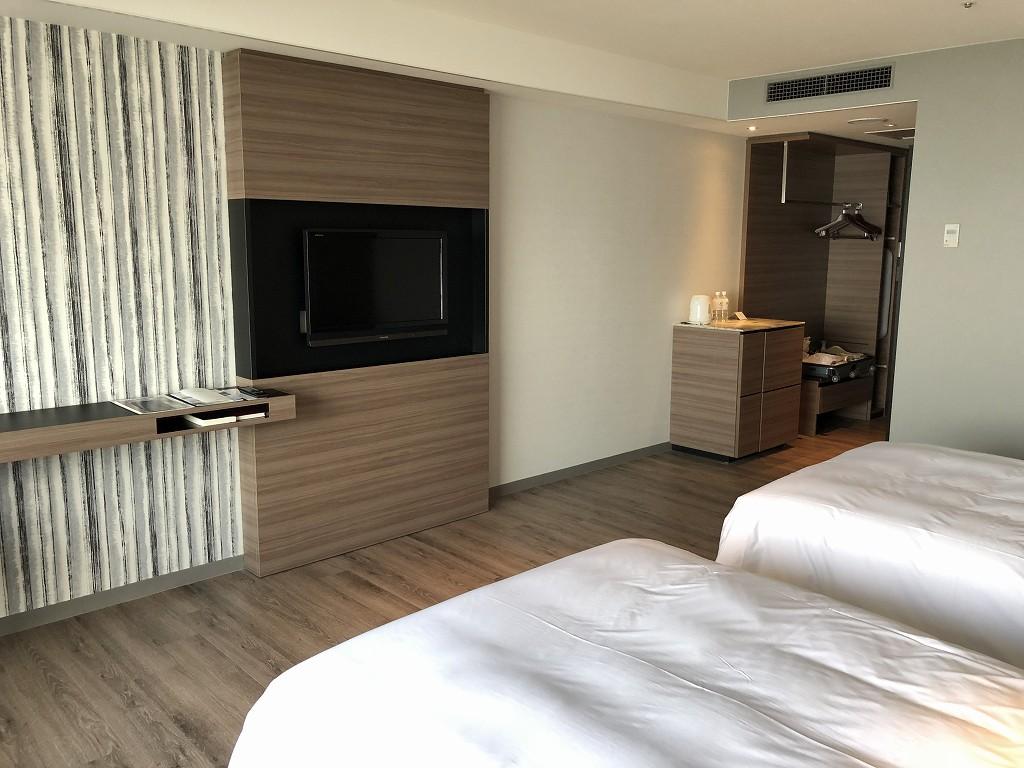 琵琶湖マリオットホテルのデラックスルーム(レイクビュー)4