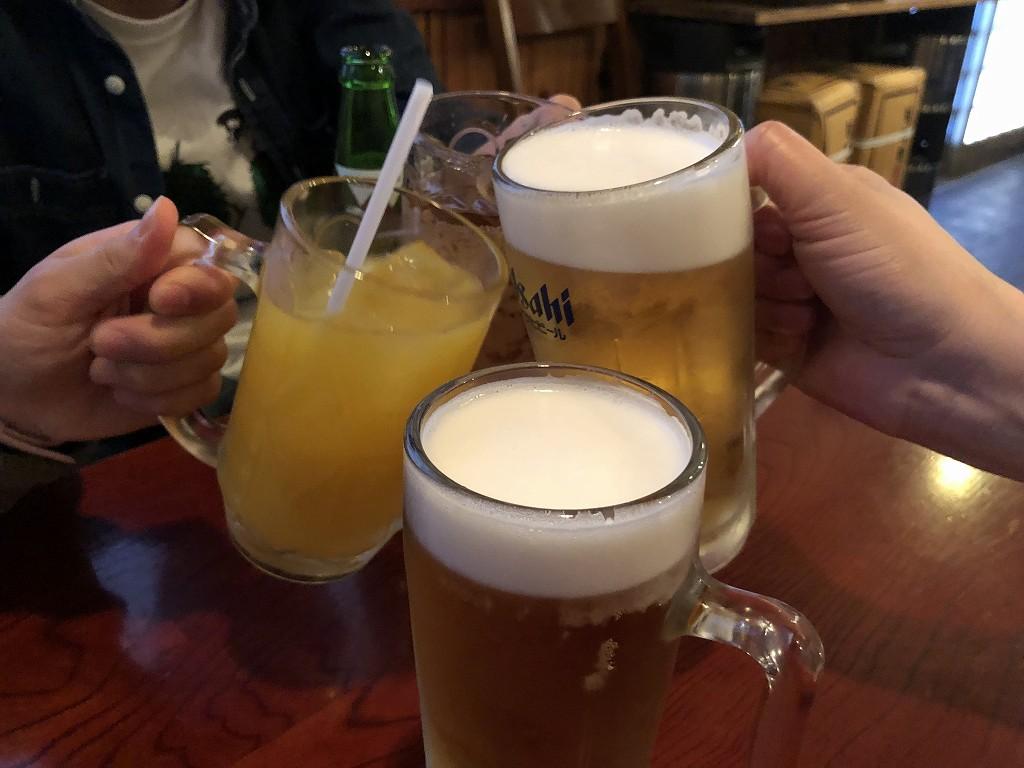 堅田のソラナカで乾杯