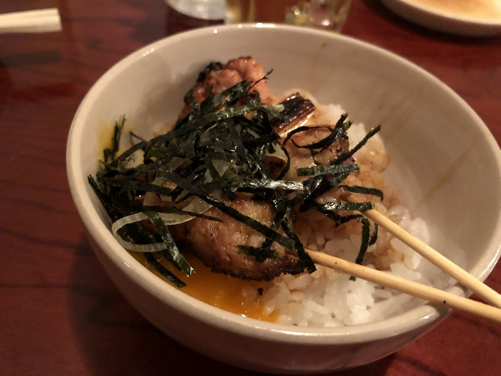 堅田のソラナカの焼き鳥丼