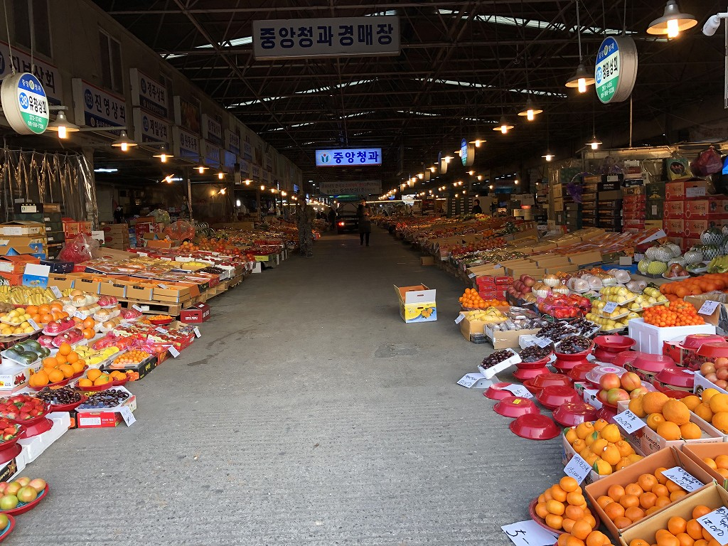 蔚山のマーケット3