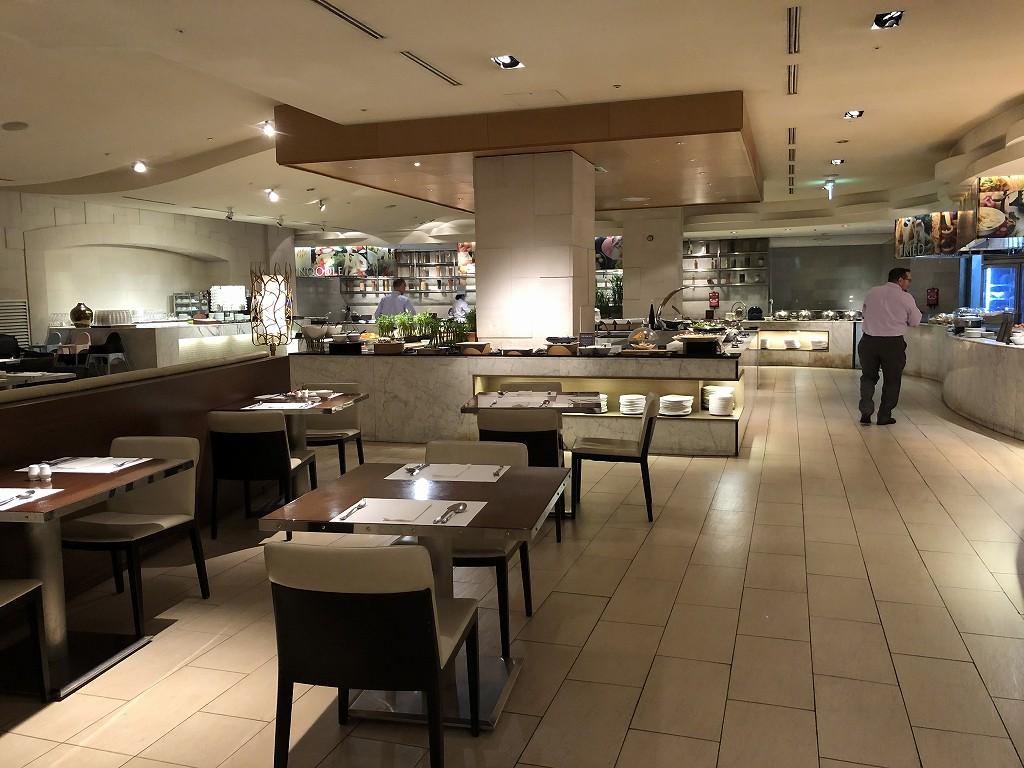 ロッテホテル蔚山の朝食会場