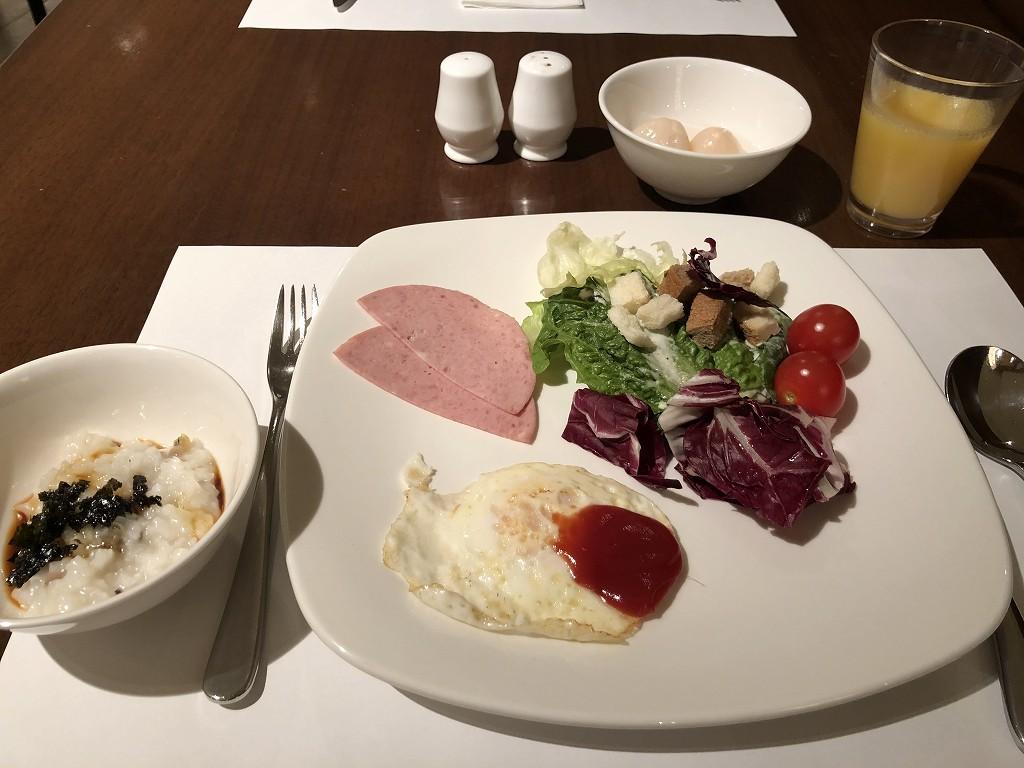 ロッテホテル蔚山の朝食1