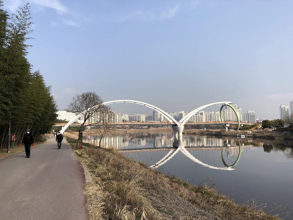 テファガン国立庭園の眼鏡橋1
