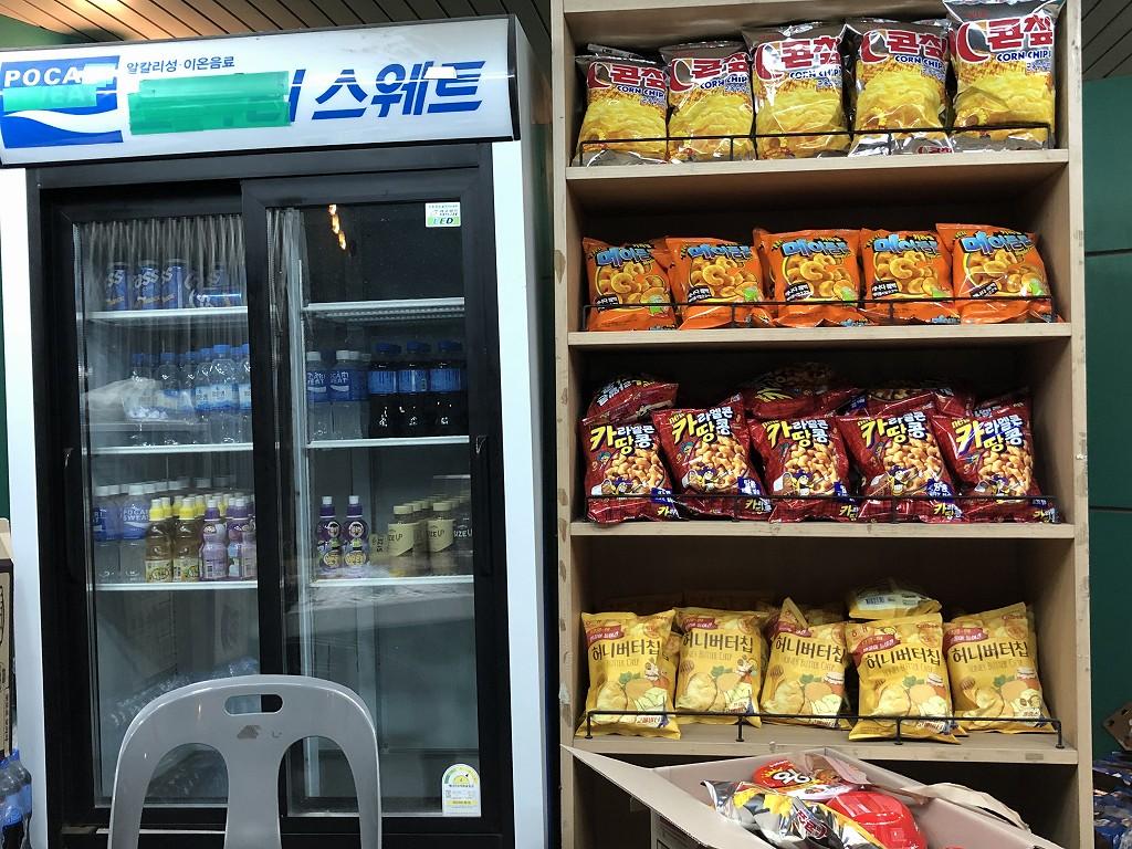 蔚山文殊サッカー競技場の売店2