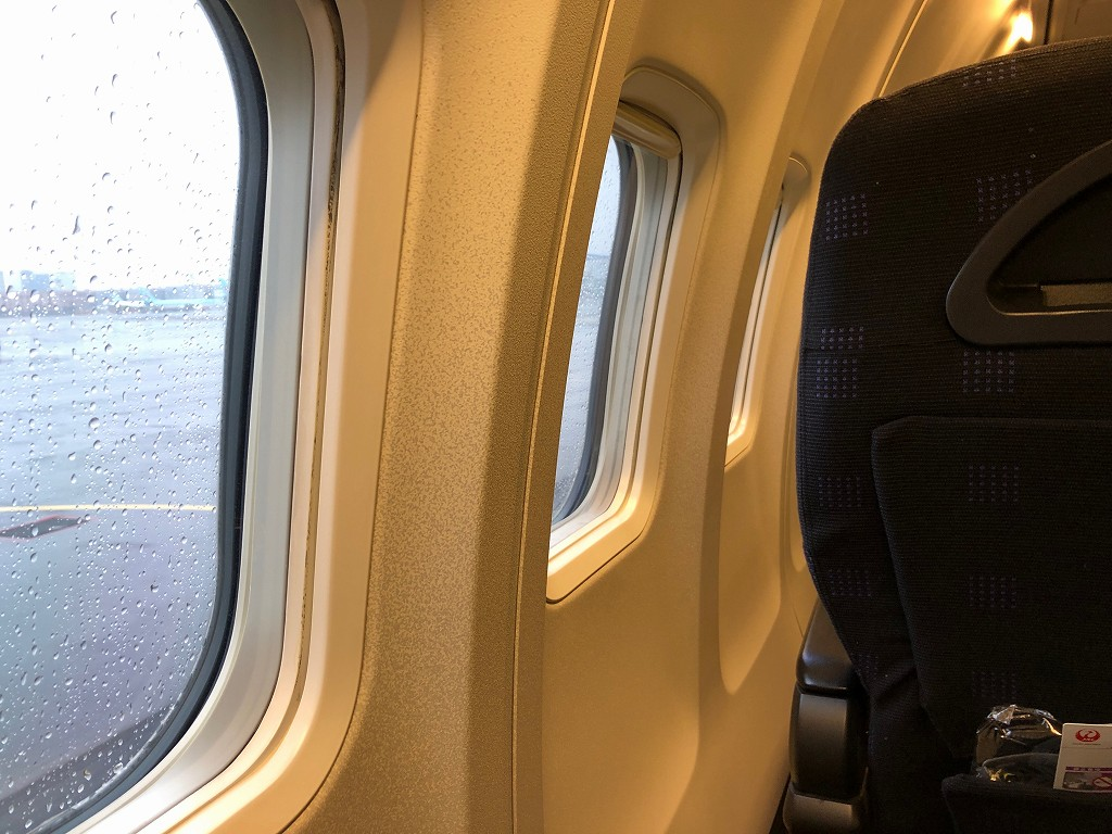JAL958便のビジネスクラス
