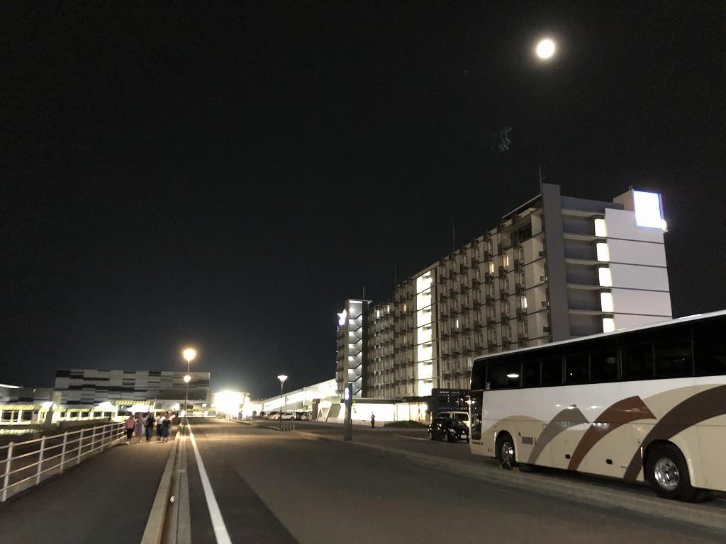 フォーポイントバイシェラトン名古屋中部国際空港からセントレアへの移動