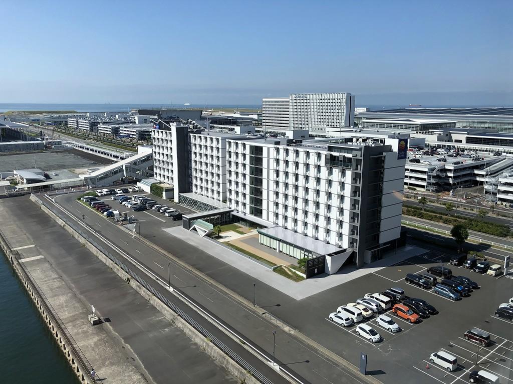 フォーポイントバイシェラトン名古屋中部国際空港からの眺め2