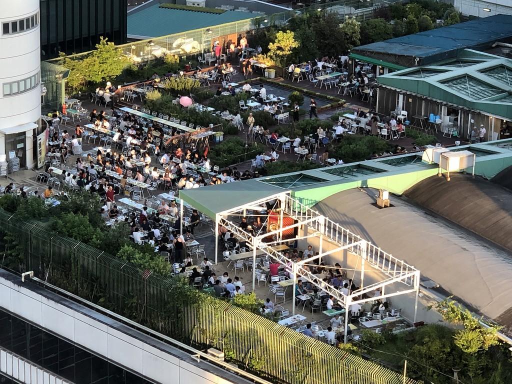 名古屋マリオットアソシアホテルからの眺め2