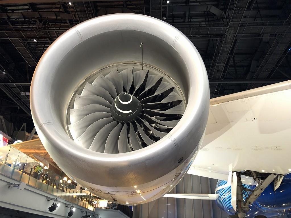 ボーイング787のエンジン1