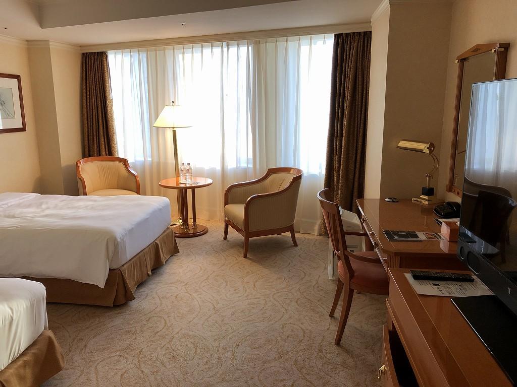 名古屋マリオットアソシアホテルのデラックスルーム1