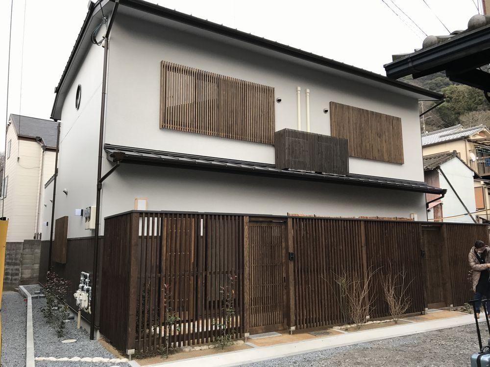京都のAirbnbの家の外観