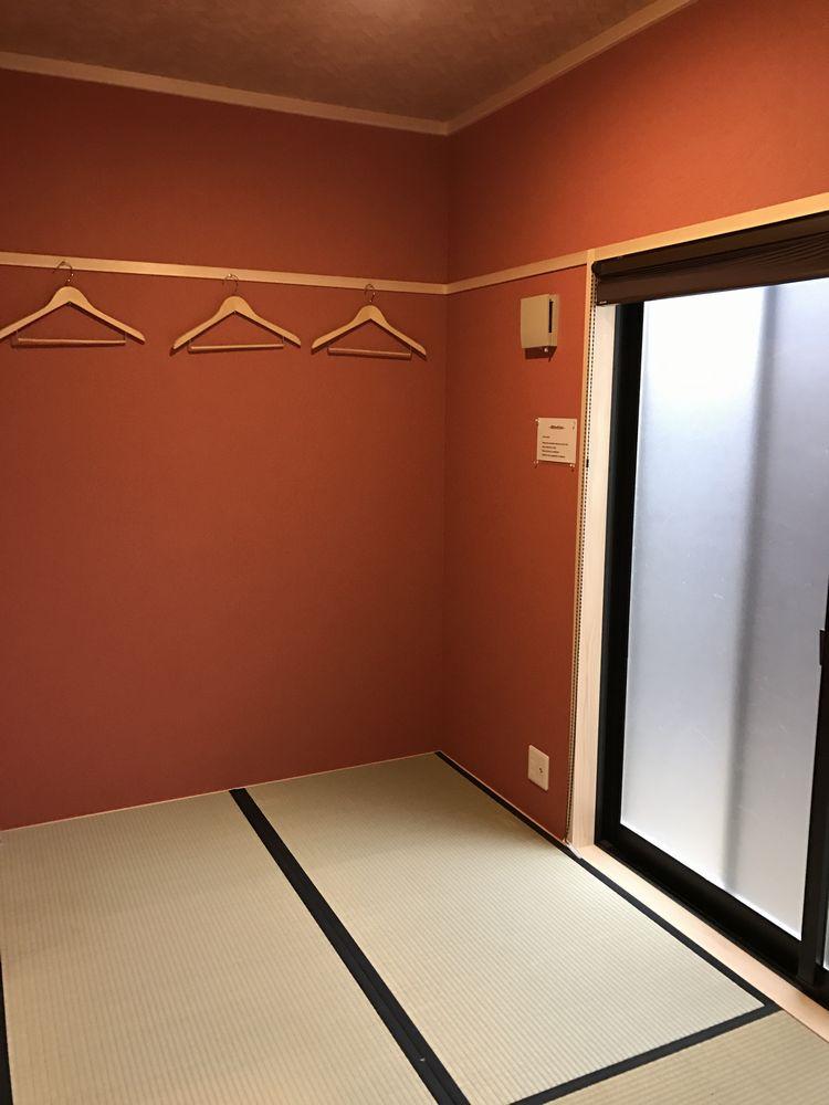 京都のAirbnbの家の1階畳の部屋