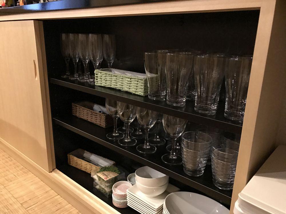 京都のAirbnbの家のキッチン1