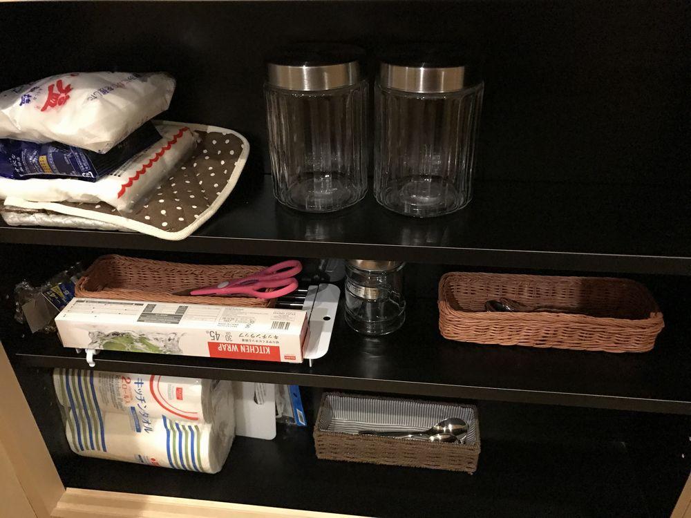 京都のAirbnbの家のキッチン2
