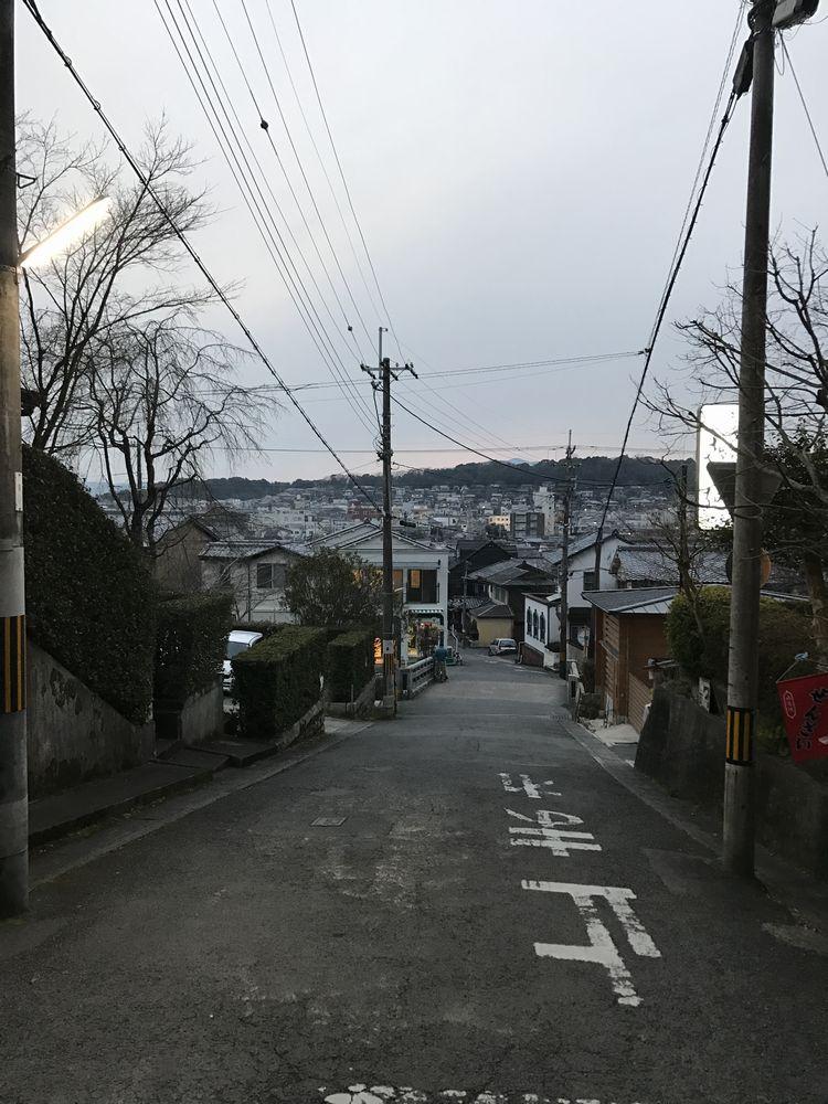 法然院町から京都市街地