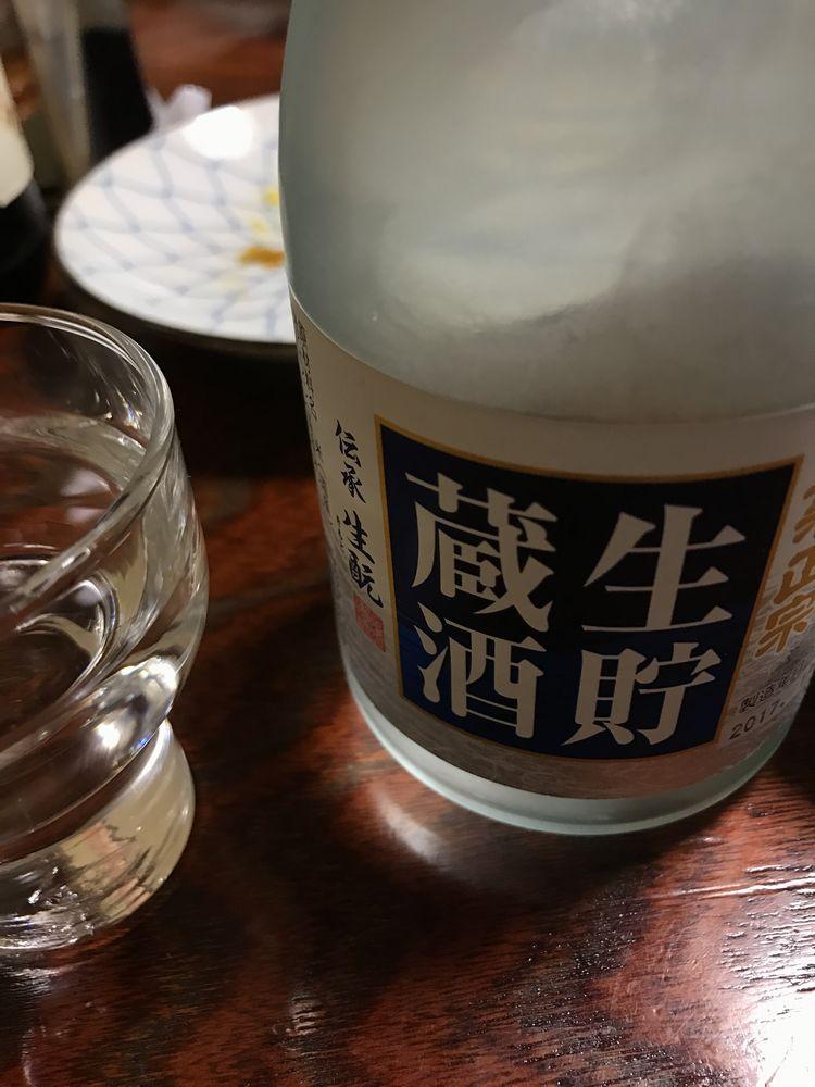 京都の焼鳥屋「あん」の日本酒