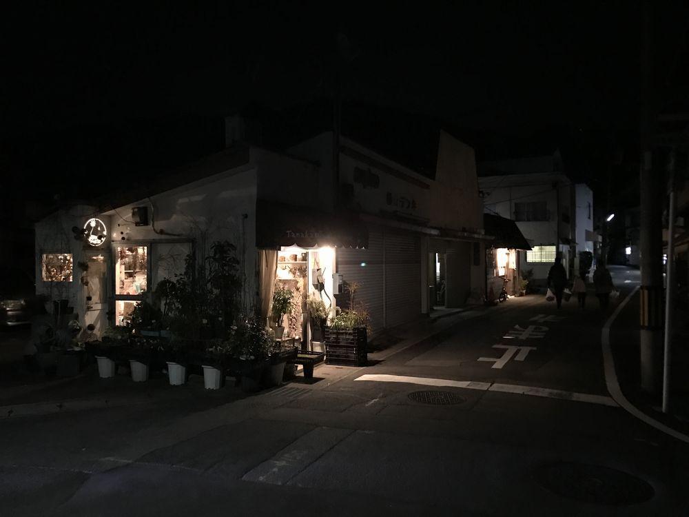 街灯が少ない京都の夜道