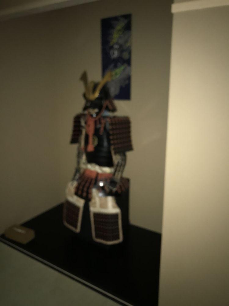 京都のairbnb宿の甲冑