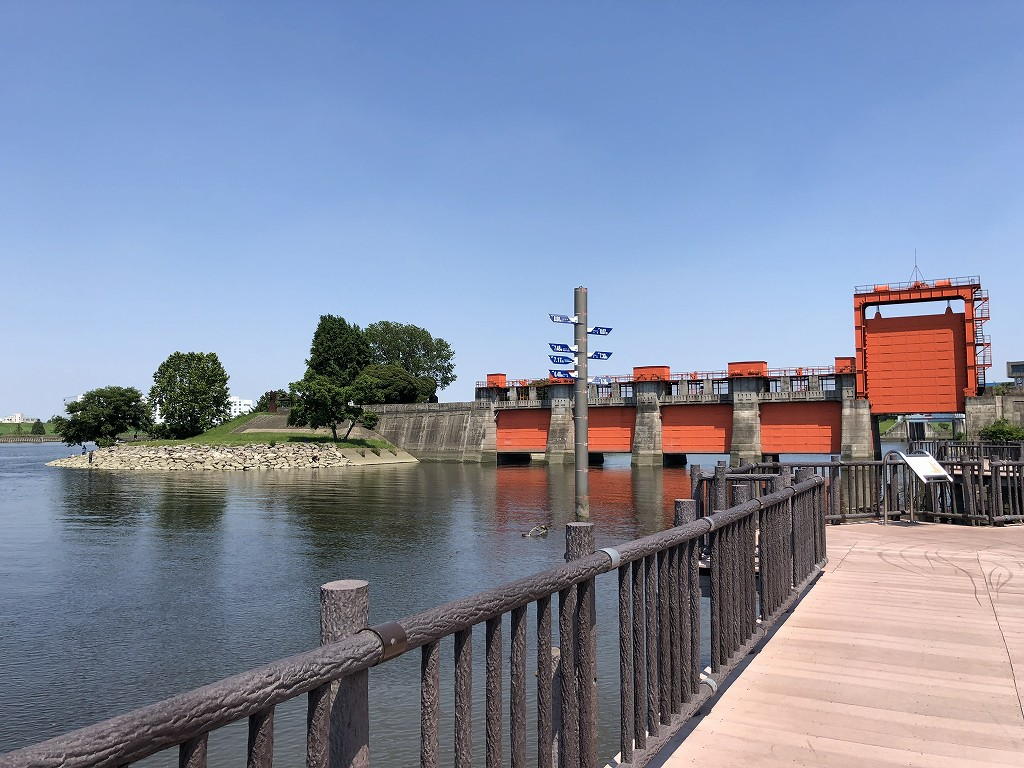 赤羽の旧岩淵水門(赤水門)1