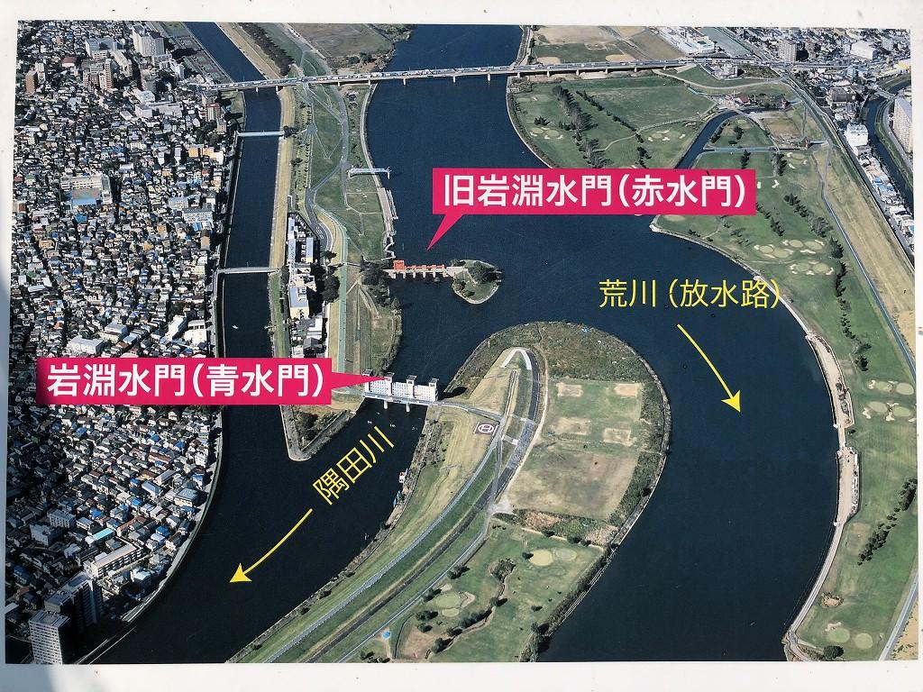 赤羽の旧岩淵水門(赤水門)2