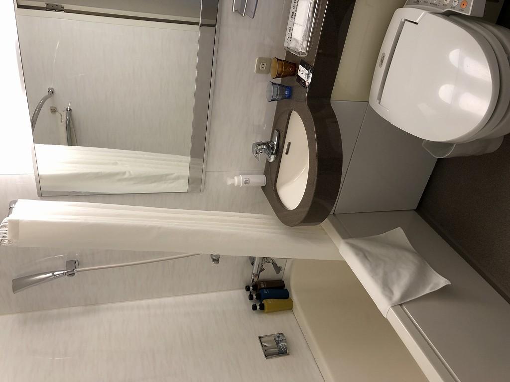 JR東日本ホテルメッツ赤羽のユニットバス