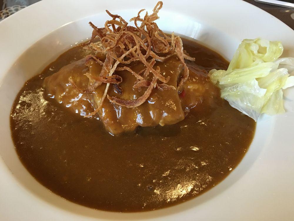 秋田の美豆木コーヒーのスタウトポークカレー