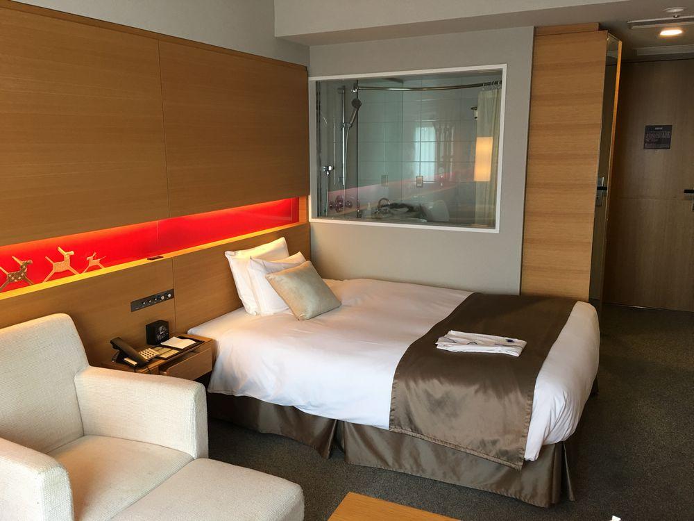 ホテルメトロポリタン秋田の禁煙シングル(ベッド側)