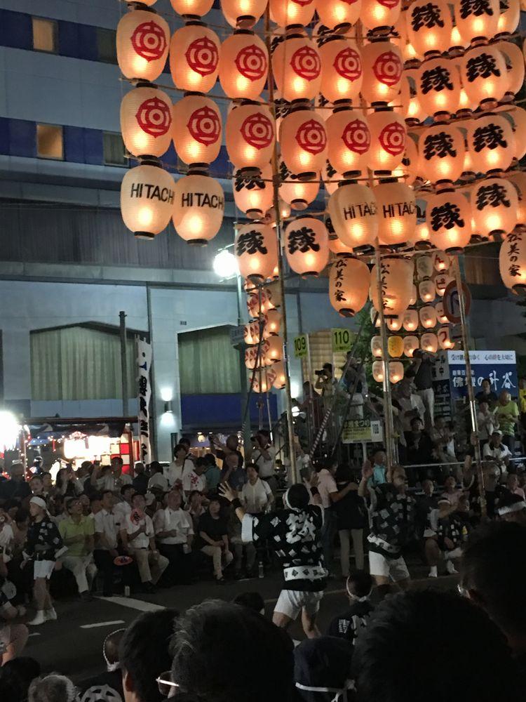 秋田の竿燈まつり2