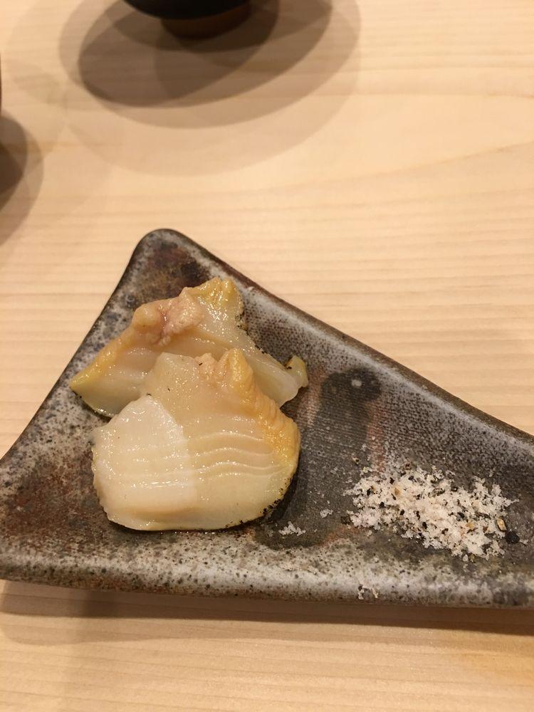 秋田のすし匠のつぶ貝