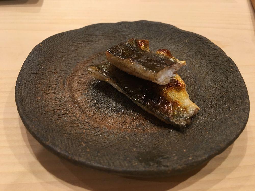秋田のすし匠の焼魚