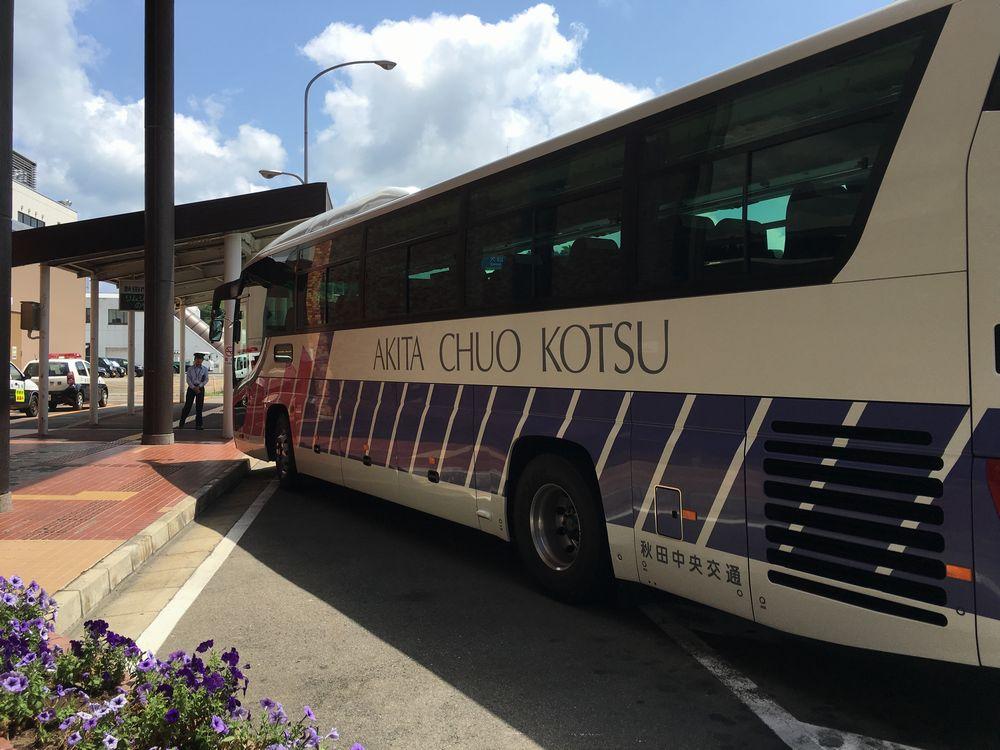 秋田中央交通のシャトルバス