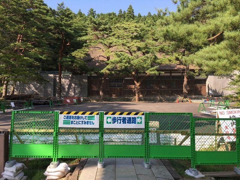 秋田の天徳寺の本堂