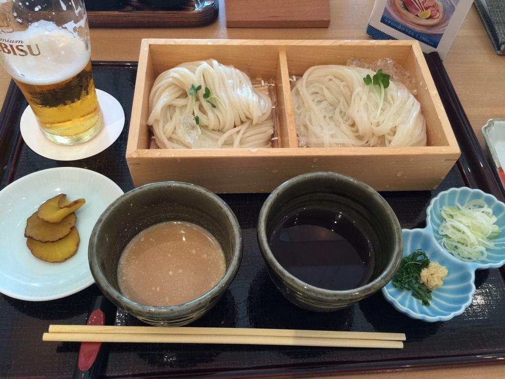 寛文五年堂秋田店乾麺・生麺味比べ1