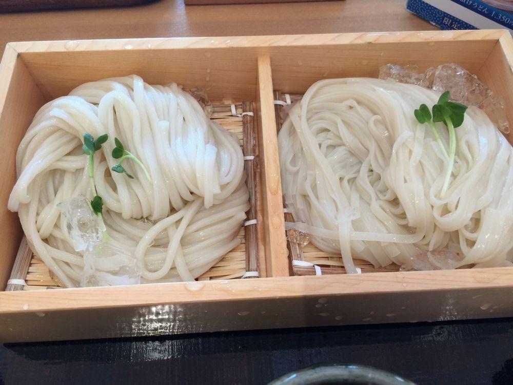 寛文五年堂秋田店乾麺・生麺味比べ2