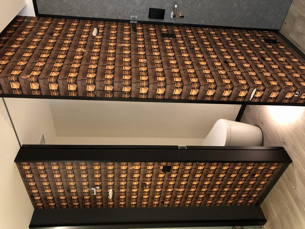 アロフト東京銀座のサヴィーキングのトイレ