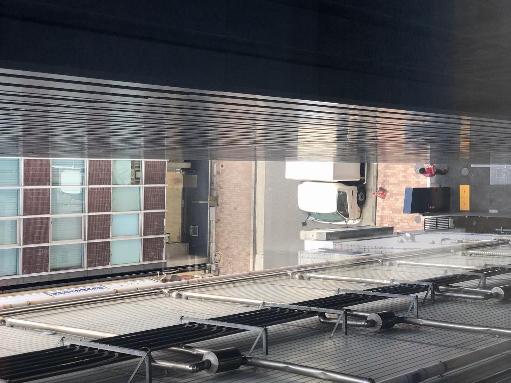 アロフト東京銀座のサヴィーキングの窓からの眺め2